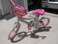 For sale is a gently used girls bike. Good for about a