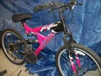 Girls 18 speed Brand NEXT very good condition kept in