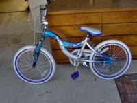 We have a used good condition girls bike I believe it