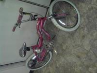"Two20"" girls bicycles....Good Bicycles still in great"