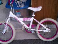 Girls Bike - Curly Q - Pink Very Nice Condition Girls