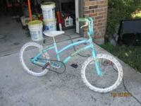 "Girls 20"" bike for sale. Hand brake as well as pedal"