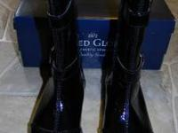 Girls Faded Glory Tall Dress Boots- size 7 New with