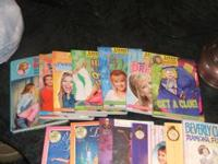 18 books for girls...Lizzie McGuire books, The Cheetah