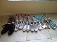 I have 13 pair of shoes for girl, sizes 13, 1, 2, 2