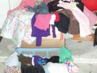 Huge Box of Clothes and shoes, From Skorts, shorts,