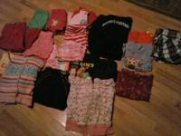 Girls light clothing in excellent condition sizes 4/5