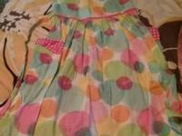 I have various girls dresses and tops. Girl clothing