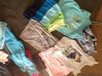 Shirts, tank tops, bathing suits, jeans, shorts,