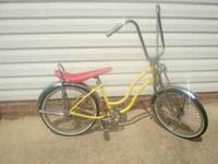 Custom made girls lowrider bike. Your girl will be