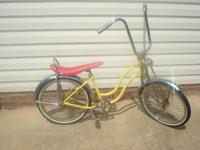 Custom made girls lowrider bike. Your girl will be