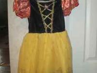 New without tags Girls Disney Snow White 4-6X Costume.