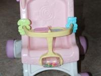 Perfect for little girls learning to walk. Push the