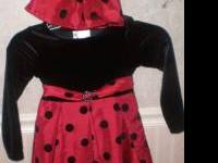 Girls dress & matching doll dress Size 5T  // //]]>