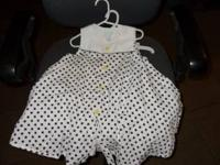 girls dresses size 4T- 2 are size 4T white one with