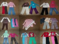 we have 70 pcs of girls 3t fall winter clothes. will be