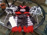 "Girls costume... Size L 8-10. ""Dead Cheerleader"" Comes"