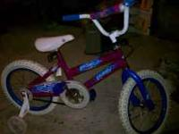 Excellent gift for Christmas. Girls Huffy Bike with