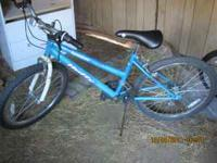 "Nice girls bike.24"", Good condition. $40.00  Location:"