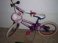 Girls Huffy Sea Star bike. Excellent condition!