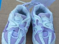 White & Purple color Near NEW Condition INFANT Size 3