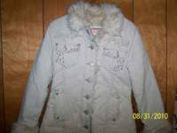 Limited Too Corduroy coat size 8 $20.00  also girls