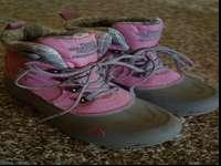 These boots are in excellent condition. They are pink
