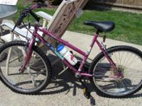 Up for Sale is a Gal / Woman's 24 Inch Bike. It's clean