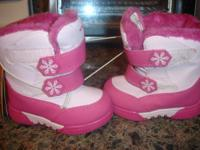 I have a pink pair of girls Champion boots in size 7