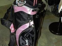 "Women Pink Golf Set includes:. 1 - 27"" length putter. 1"
