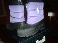 Girls Polo Winter Boots in good condition used last