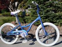 "Girls Raleigh Jazzi 20"" Bike - Perri Blue - $50 OBO"