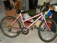 Pretty in Pink!! Girls Schwinn 10 speed bike. Call