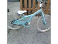 Girls Scwinn Bike in good shape needs innertubes for
