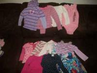 i have 27 long sleeved shirts and 5 sweaters.$25 OBO