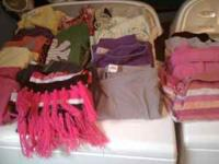 I HAVE A PILE OF GIRLS CLOTHES SIZE 12/14 SELLING ALL