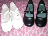 I have two pairs of dress shoes for girls size 12 one