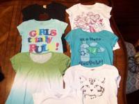 1.This is a lot of girls shirts. They are all in great