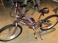 "Girls Specialized ""Hotrock"" bicycle, purchased new from"