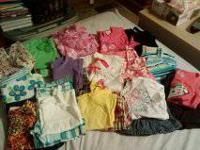 50 piece summer clothes.  3T all in great shape, smoke