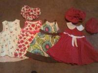 gymboree sailor dress 18-24 month $4 'polka tots' pink
