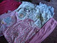This is a lot of summer clothes for girls size 14. All