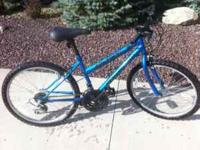 Girls Ten Speed 24inch bike. Roadmaster Mt Fury. Good