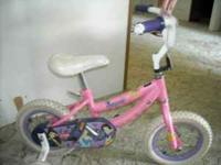 Girls Toddler Princess Bike for sale. If intrested call