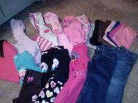 47 piece lot of fall/winter ladies clothing. 3T All in