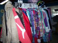 Lots of size 6-8-10-12 winter clothes.