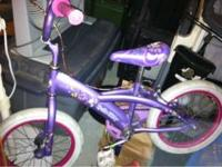 My daughter got a bigger bike for Christmas. This one