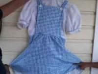 Girls size large Dorothy Costume. Dress only. $8.