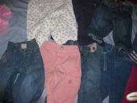 Jeans size 12months, and 18 months .50 - .75 cents lots
