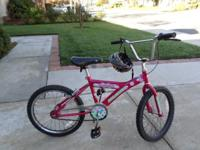 VERY NICE GIRLS BICYCLE, PINK, GOOD TIRES, BACK PEDAL